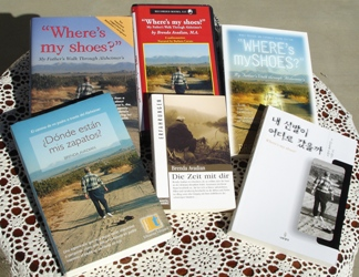 Avadian's first caregiver book goes international - Where's my shoes