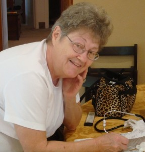 Darlene Eiland TCV Caregiver of the Month - March