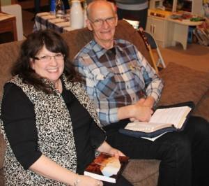 Sheri Zschocher and husband Bob