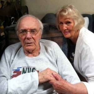 TCV's Caregiver of the Month, Mabel Ann Romick with her husband