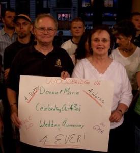 Donald and Marie Mc Cormick at GMA 2007